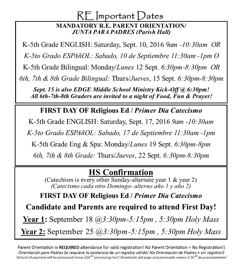 SY2016-17 RE Dates